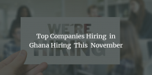 Top Companies Hiring This November 2019