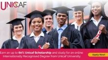 Apply for a Unicaf Scholarship and study for an accredited Bachelor, Master's or Doctoral Degree!