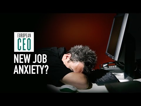 How to overcome new job anxiety